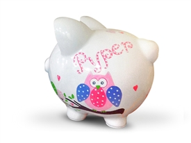 Dena Happy Pink piggy bank