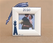 Lighthouse Personalized Photo Ornament