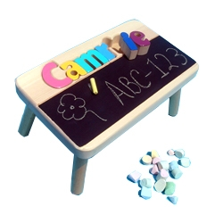 Cute Step Stool For Toddlers Kids Chalkboard Table