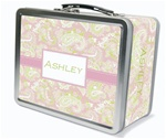 Pink Paisley Lunch Box