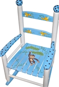 Rocking Chair Blue Monkey