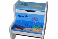 Sea Creatures storage stool