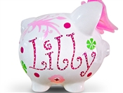 Strawberry fields piggy bank