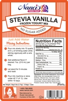 Frozen Yogurt Mix - Stevia Vanilla - 85138-F