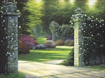 Olde Stone Gate, The, Canvas