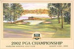 2002 Hazeltine NTL Golf Club Poster