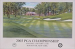 2003 Oak Hill CC Official Poster