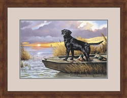 Framed Basic Black by Larry Chandler. Limited Edition Print