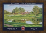 2009 Senior Open Official Poster Framed
