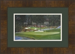 Augusta 11th hole framed mini