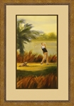 Fairway Companion I Framed