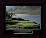 Goals Golf Framed
