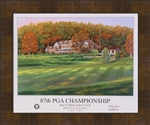 2007 US Senior Open Official Poster Framed