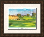 2016 Official Ryder Cup framed limited edition print