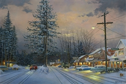 Christmas, Tahoe City, 1952 by Keith Brown
