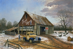 The Barn Painters by Keith Brown