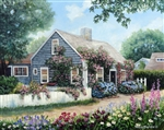 Cottage with Roses