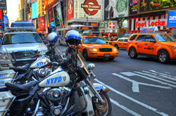 New York City Police Department. A gallery wrapped canvas by Kelly Wade