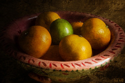 Tangerines and Lime by Hal Halli
