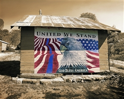 United We Stand (Tribute to Law Enforcement) giclee canvas by Don Schimmel