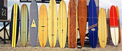 22nd Street Longboards surfing giclee canvas by Don Schimmel