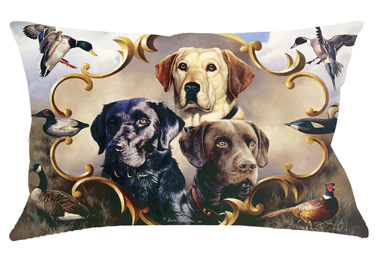 30x40 Command Performance Pet Bed by Larry Chandler