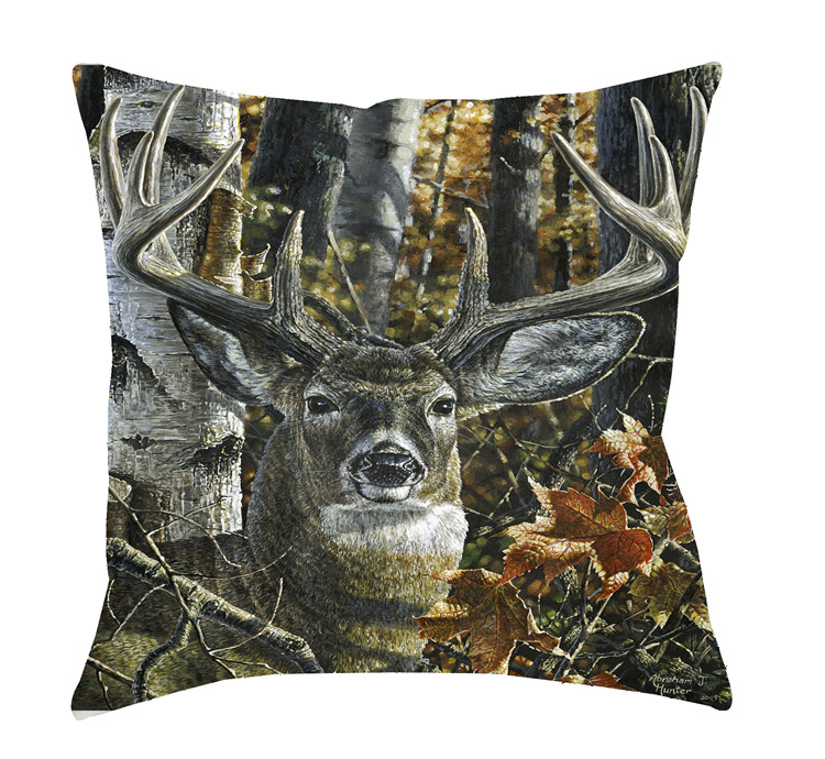 14x14 Autumn Colors Decorative Pillow