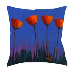 "14x14 ""Sky High"" Decorative Pillow by Jeff Boutin"