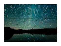 Watching the Stars Go Around Wood pallet by Scott Barlow