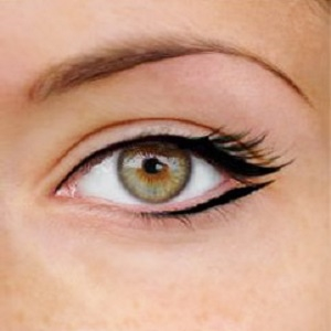 Eyeliner Top Thick Bottom Thin