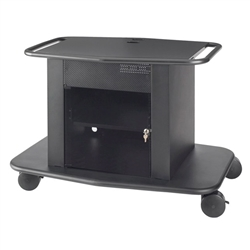 "Avteq GM-350S 32"" Tall Single Monitor Cart"