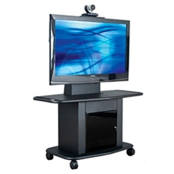 "Avteq 32"" Tall 65"" Single Display Cart GMP-200L-TT-1"