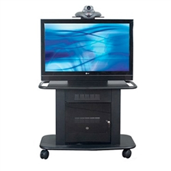 "Avteq GMP-200S-TT-1 42"" Single Display Cart"