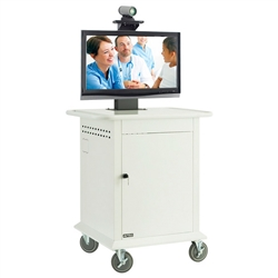 Avteq TMP-600 Single Display Medical Cart