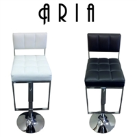 Aria Modern Adjustable Bar Stool (Set of 2)