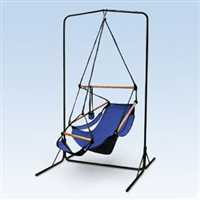 Black Arch Hammock Chair Stand