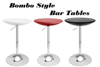 Bombo Adjustable Bistro Bar Tables