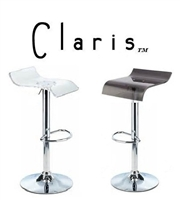 Claris Contemporary Single Adjustable Bar Stool