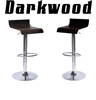 Darkwood Single Contemporary Bar Stool