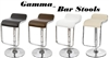Gamma Modern Adjustable Bar Stools - Set of 2