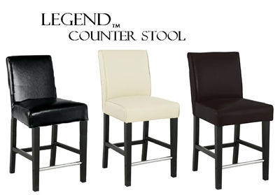 "Legends Modern Parsons 24"" Counter Stool"