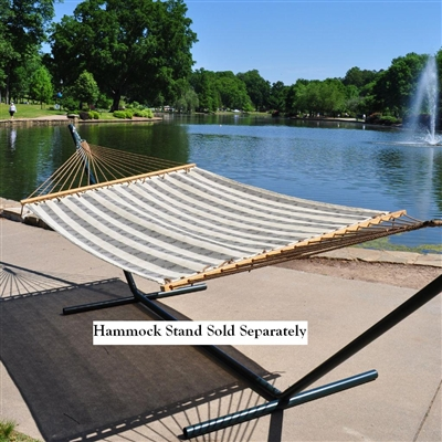 Quickdry Poolside Striped Double Textilene Hammock