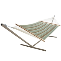 Quilted Double Hammock with Pillow