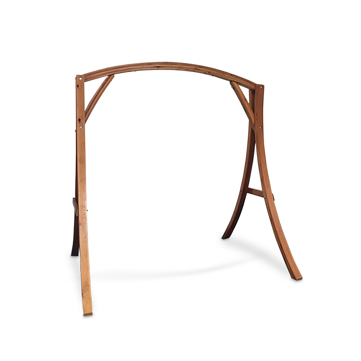 Medium image of wooden arch hammock chair stand