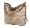Taupe Reversible Hobo