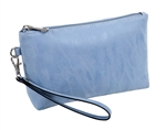 Periwinkle Cosmetic Wristlet