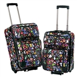Classic Wardrobe Two Piece Luggage Set