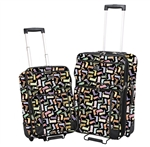 Classic Kickin' It 2 Piece Luggage Set