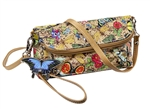 Botanical Cross Body Wristlet