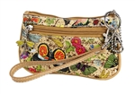 Botanical Mini Wristlet